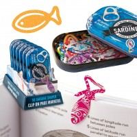 TIN OF SARDINES PAGE MARKERS
