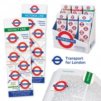 LONDON UNDERGROUND MINI-MAGNETIC BOOKMARK