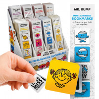 MR MEN AND LITTLE MISS MINI-MAGNETIC BOOKMARKS