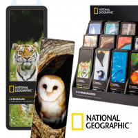 NATIONAL GEOGRAPHIC 3-D BOOKMARKS