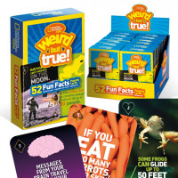 NATIONAL GEOGRAPHIC KIDS 'WEIRD BUT TRUE!' PLAYING CARDS