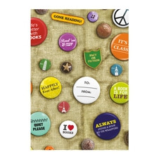 GIFT WRAP FOR BOOKS - BOOK BADGES