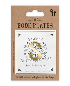 LETTER BOOK PLATES - LETTER S