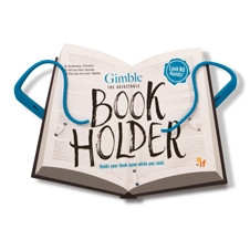 GIMBLE ADJUSTABLE BOOK HOLDER - TRUE BLUE