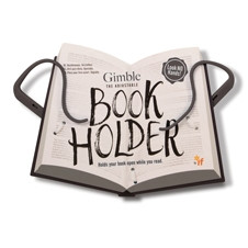GIMBLE ADJUSTABLE BOOK HOLDER - URBAN GREY