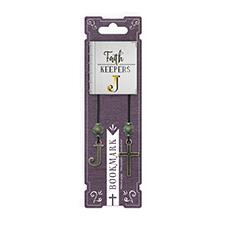 FAITH KEEPERS ANTIQUED BIBLE BOOKMARKS - LETTER J