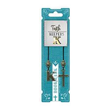 FAITH KEEPERS ANTIQUED BIBLE BOOKMARKS - LETTER K
