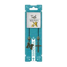 FAITH KEEPERS ANTIQUED BIBLE BOOKMARKS - LETTER M