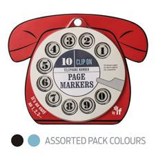 - TELEPHONE NUMBERS PAGE MARKERS