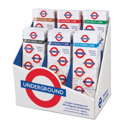- LONDON UNDERGROUND MINI-MAGNETIC BOOKMARK STARTER PACK