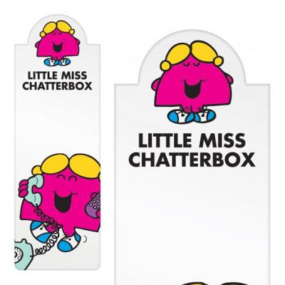 - LITTLE MISS CHATTERBOX