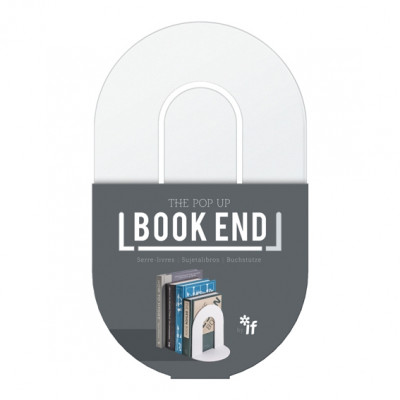 THE POP UP BOOK END  - WHITE