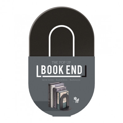 THE POP UP BOOK END  - BLACK