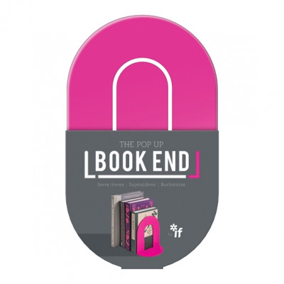 THE POP UP BOOK END  - PINK