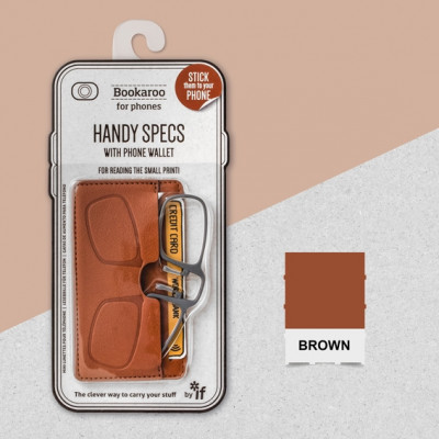 BOOKAROO HANDY SPECS - BROWN