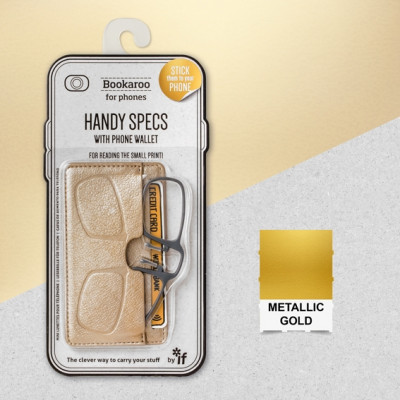 BOOKAROO HANDY SPECS - GOLD