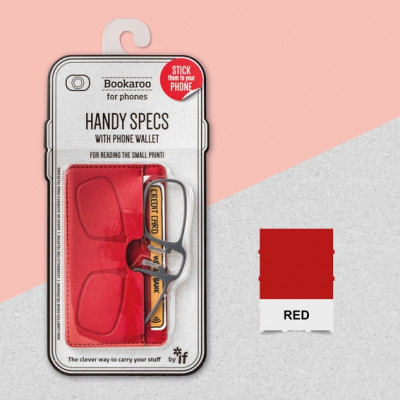 BOOKAROO HANDY SPECS - RED