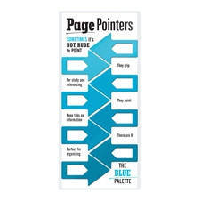 PAGE POINTERS PAGE MARKERS - BLUE