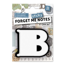 FORGET ME NOTES - LETTER B