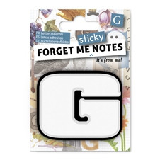 FORGET ME NOTES - LETTER G