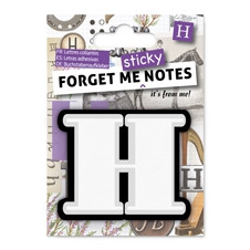 FORGET ME NOTES - LETTER H