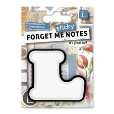 FORGET ME NOTES - LETTER L