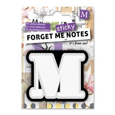 FORGET ME NOTES - LETTER M
