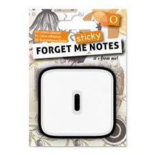 FORGET ME NOTES - LETTER O