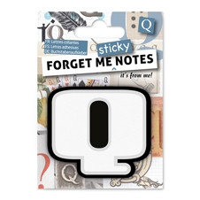 FORGET ME NOTES - LETTER Q