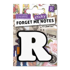FORGET ME NOTES - LETTER R