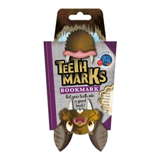 TEETH-MARKS BOOKMARKS - BAT