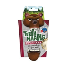 TEETH-MARKS BOOKMARKS - BEAR