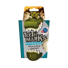 TEETH-MARKS BOOKMARKS - T-REX