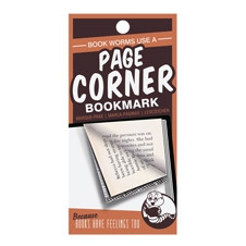 PAGE CORNER BOOKMARKS - WORMS