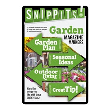 SNIPPITS® MAGAZINE PAGE MARKERS - SNIPPITS® GARDEN