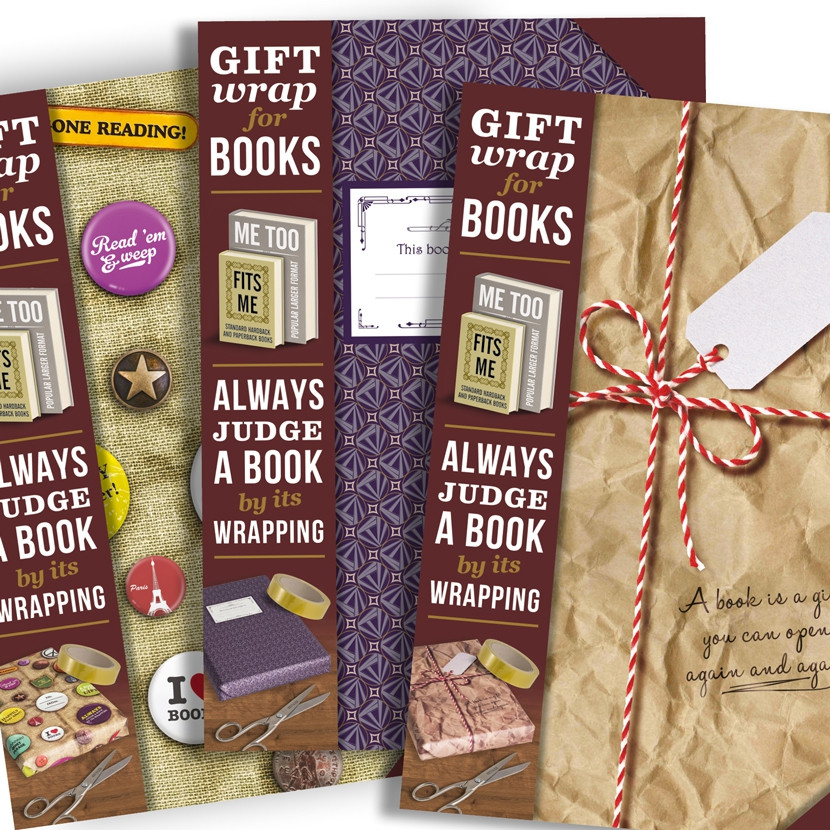 GIFT WRAP FOR BOOKS 4