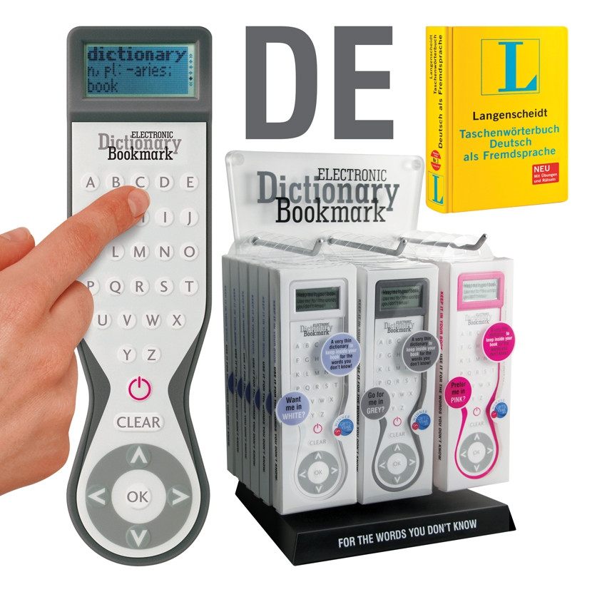 ELECTRONIC DICTIONARY BOOKMARK (SINGLE LANGUAGE DE) 0