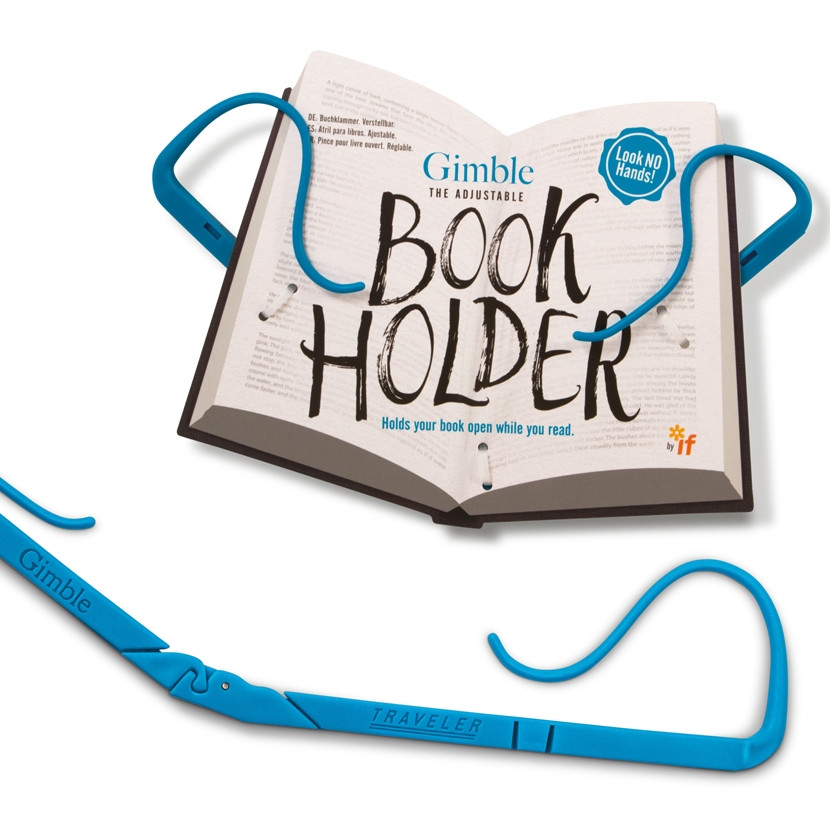 GIMBLE ADJUSTABLE BOOK HOLDER 4