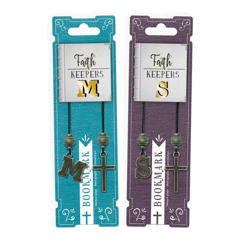 FAITH KEEPERS ANTIQUED BIBLE BOOKMARKS 3