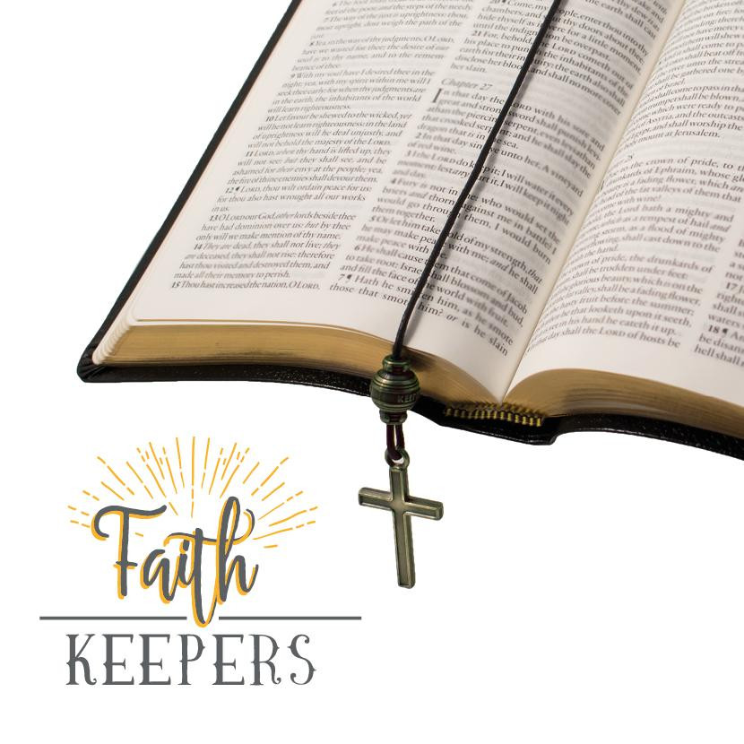 FAITH KEEPERS ANTIQUED BIBLE BOOKMARKS 4