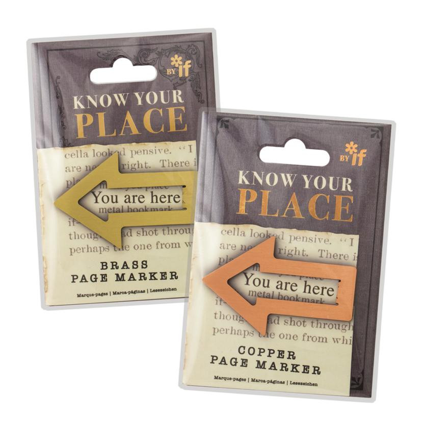 KNOW YOUR PLACE PAGE MARKERS 1