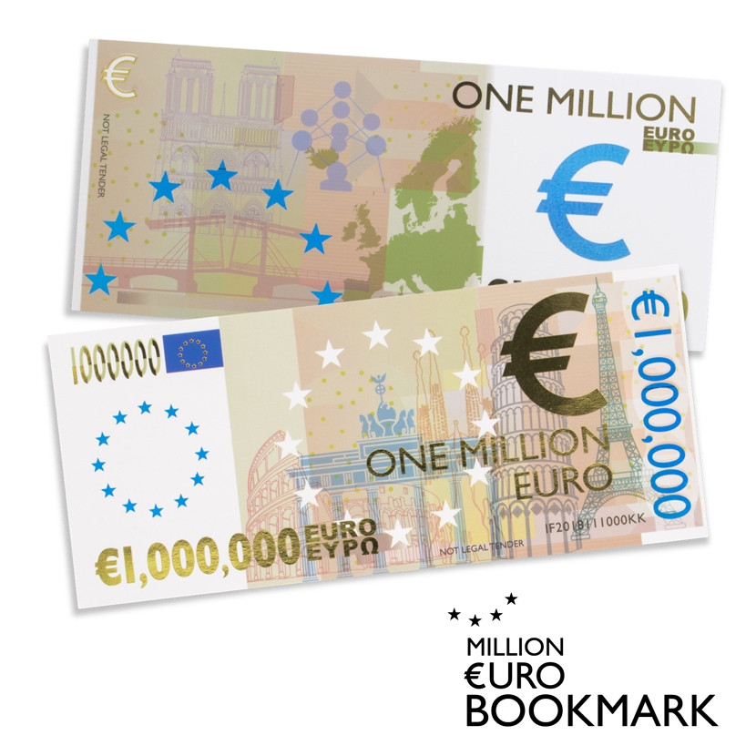 THE MILLIONAIRE'S BOOKMARKS 1
