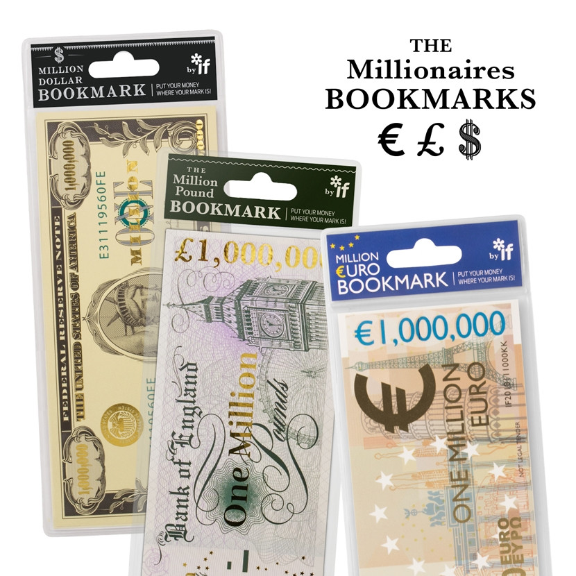 THE MILLIONAIRE'S BOOKMARKS 0