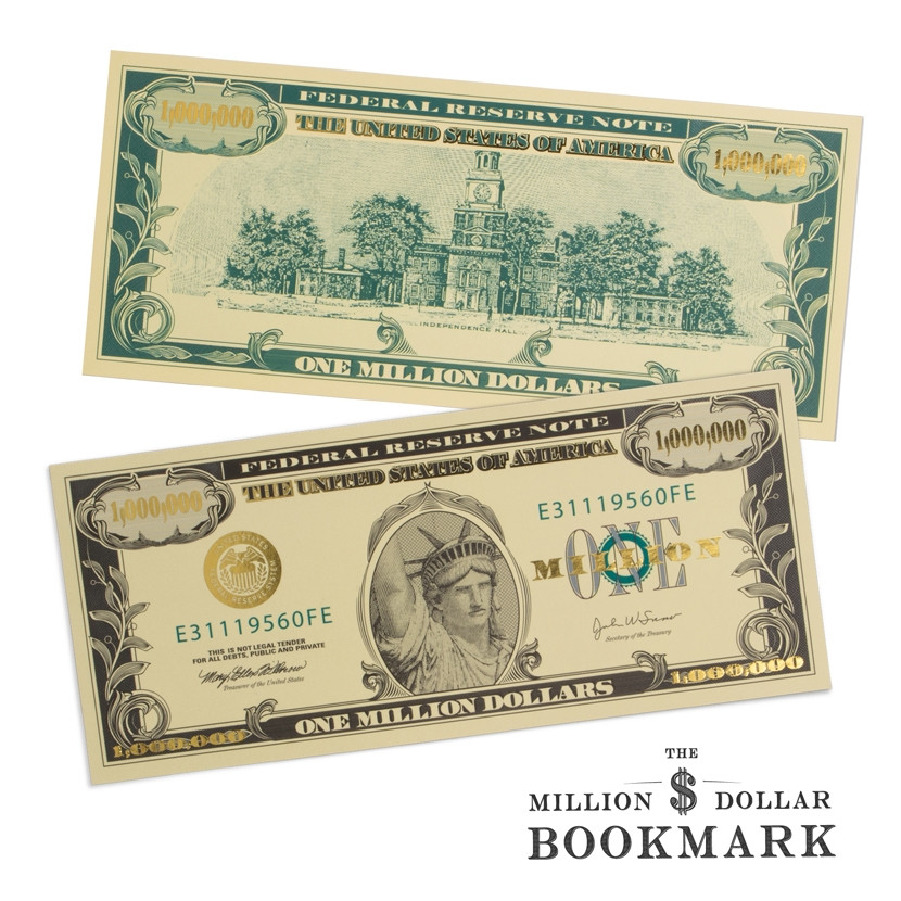 THE MILLIONAIRE'S BOOKMARKS 3