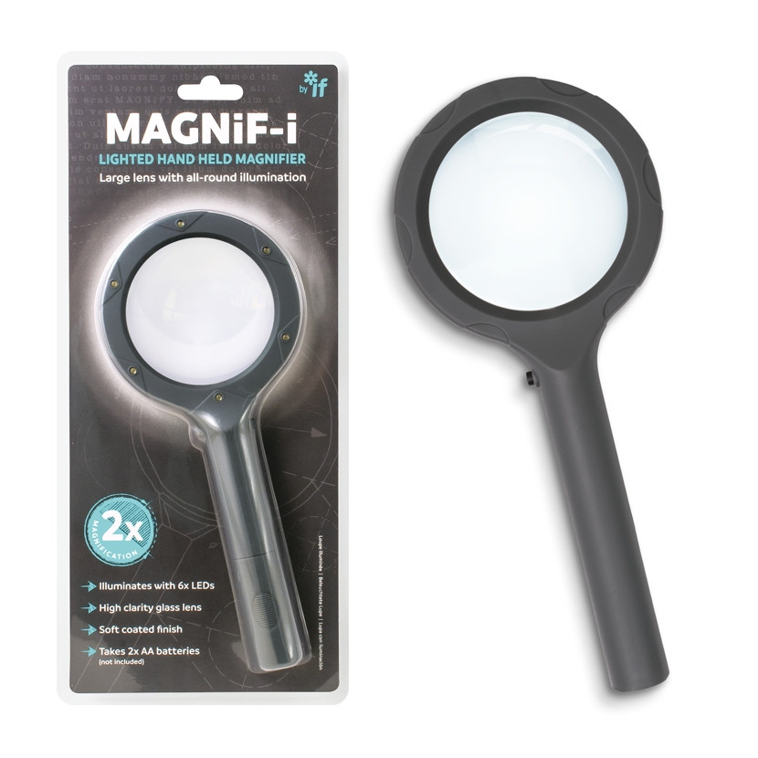 MAGNIF-I LIGHTED HAND HELD MAGNIFIER 1