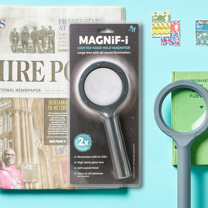MAGNIF-I LIGHTED HAND HELD MAGNIFIER 0