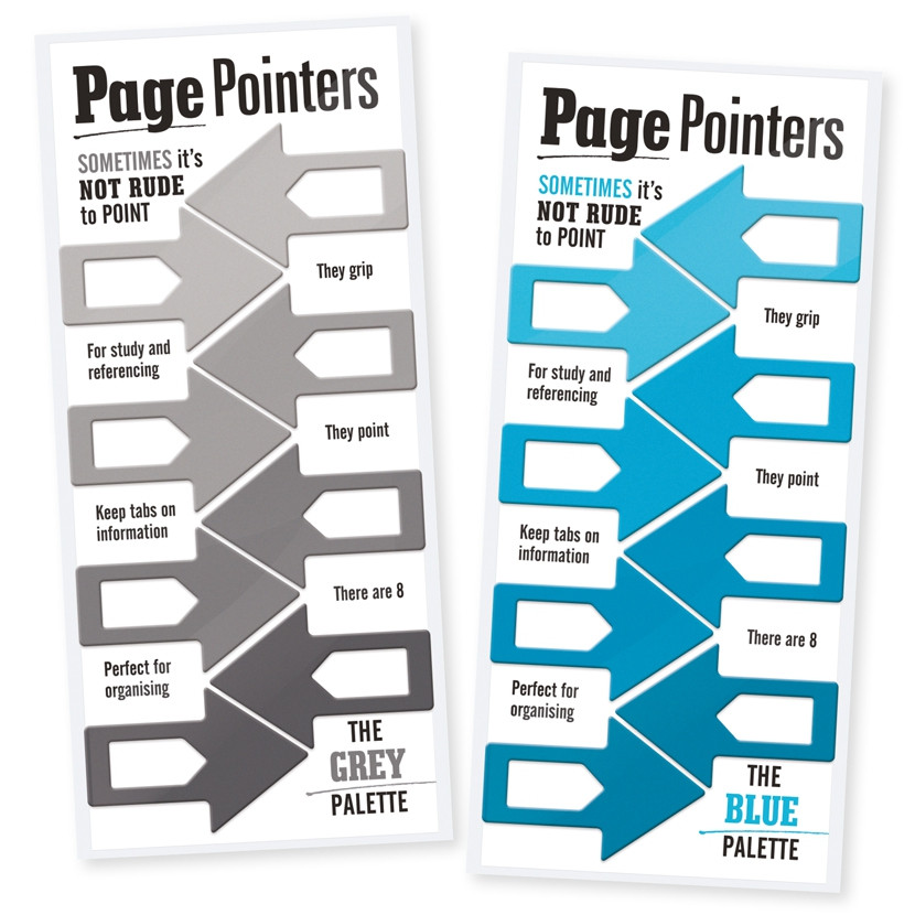 PAGE POINTERS PAGE MARKERS 1