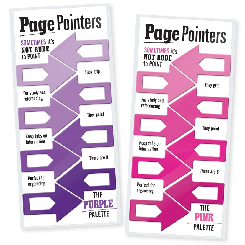 PAGE POINTERS PAGE MARKERS 3
