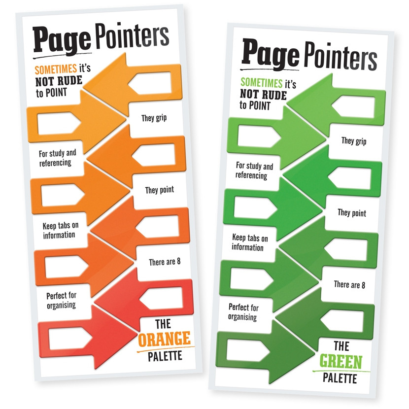 PAGE POINTERS PAGE MARKERS 4