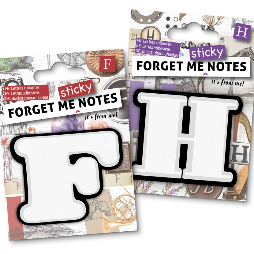 FORGET ME NOTES 4